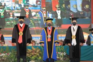 Ketua MA Hadiri Pengukuhan Jaksa Agung Sebagai Guru Besar