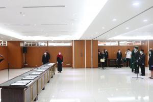 Sekretaris MA Melantik 42 Pejabat Fungsional